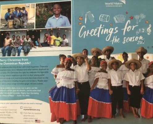 Hector in the Dominican Republic sent us a Christmas card