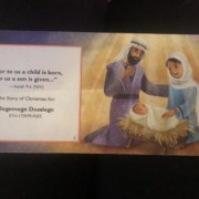 Christmas message to our kids in faithful countries
